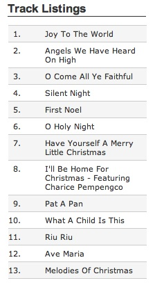 Walmart CFTH track listings